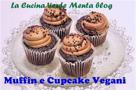 Muffin al cioccolato e pistacchi vegani