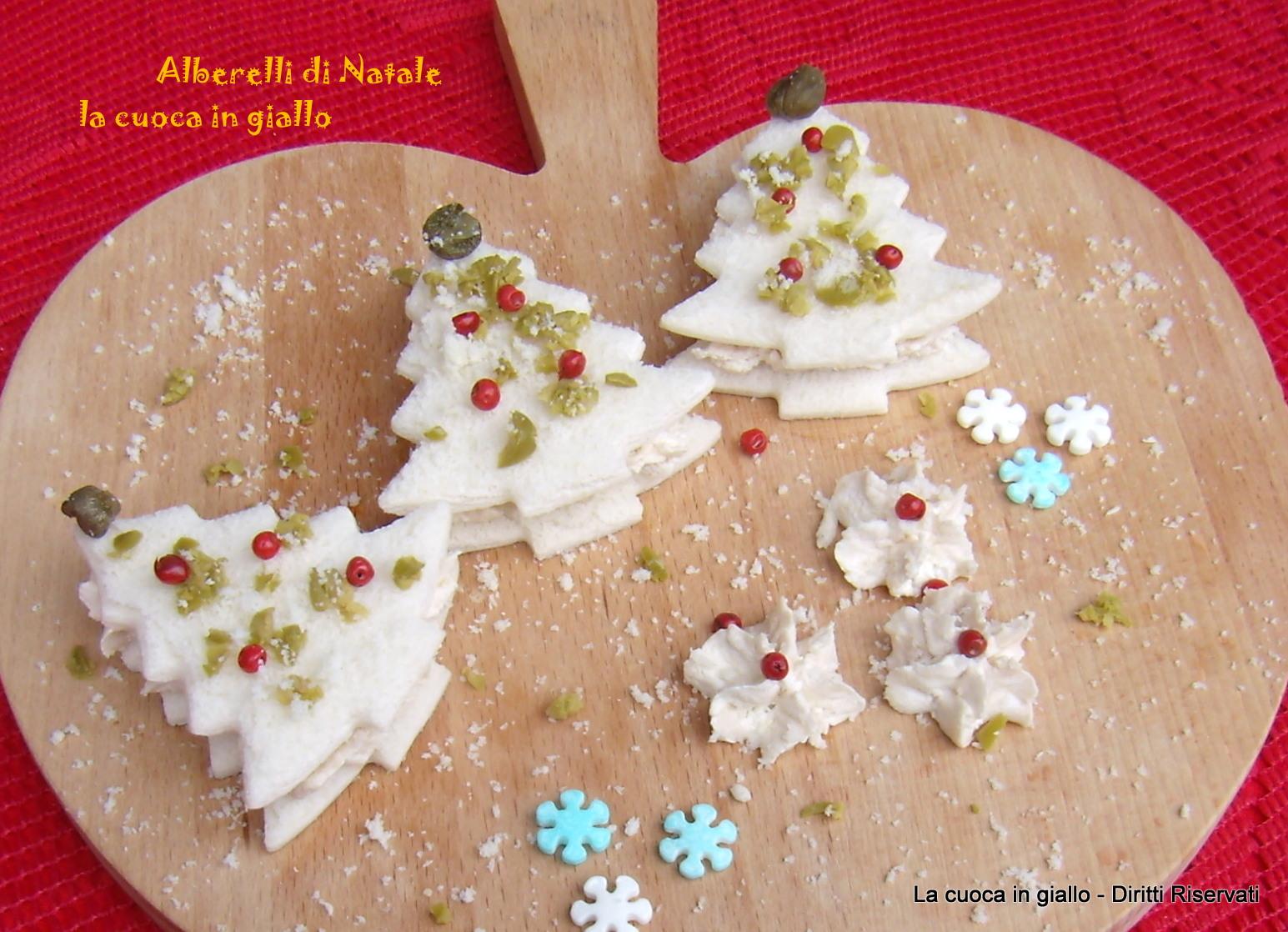 Ricerca ricette con alberelli di natale for Alberelli di natale