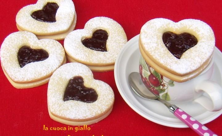 Biscotti degli innamorati