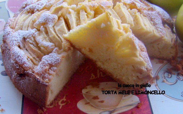 Torta mele e limoncello