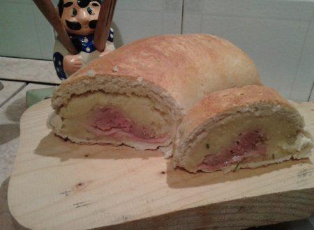Purè di patate in crosta di pane