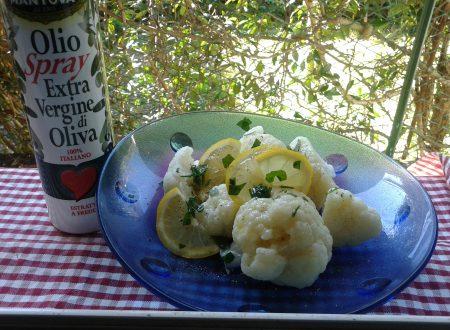 Insalata di broccolo bianco