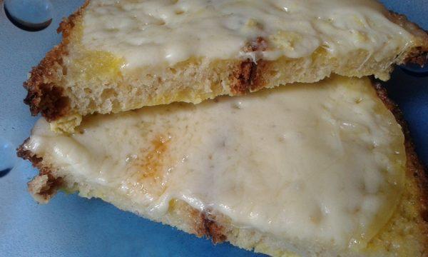 Crostone di pane alla mugnaia