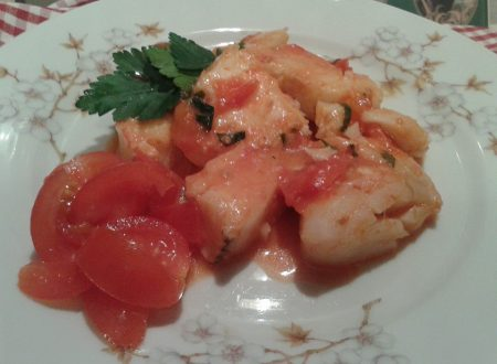 Merluzzo e pomodorini