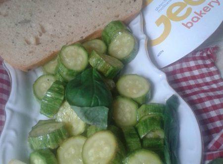 Zucchine all'agro di limone