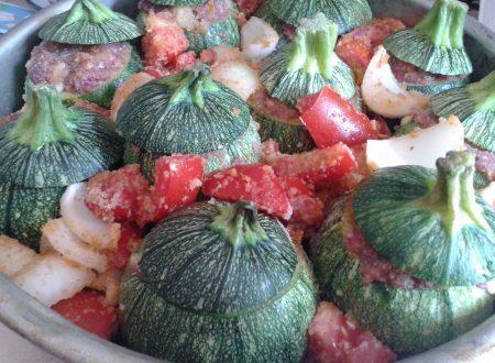 Zucchine tonde…ripiene