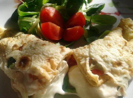 Crèps salate ripiene