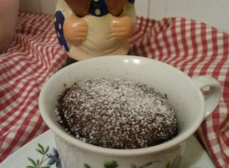 Mug cake all'arancia e cannella