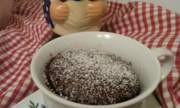 Mug cake all'arancia e cannella