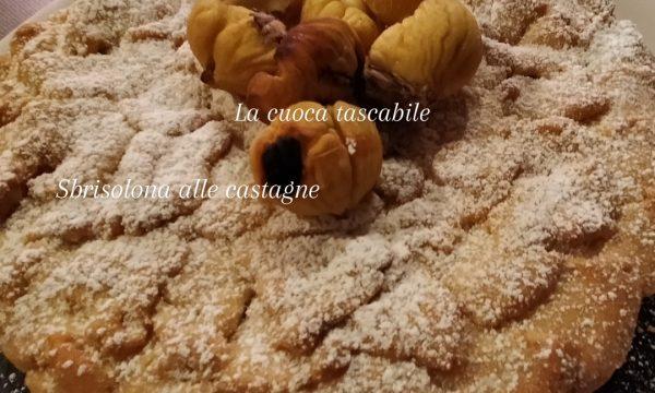 Sbrisolona di castagne e mascarpone