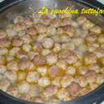Polpettine in brodo