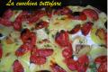 Filetti di orata al forno con patate e datterini