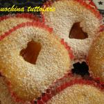 Tortini con cuore morbido di marmellata