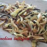 Fiammiferini di zucchine