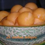 Coppette di melone