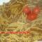 Pasta corta con lenticchie
