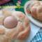 Coroncine di panini pasquali