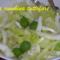 Insalata incappucciata con olive verdi e finocchi
