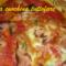 Pizza rossa al prosciutto cotto