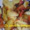 Patate e peperoni al forno