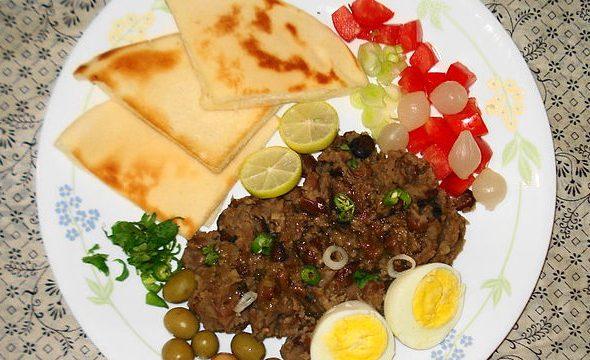 Fagioli bruni egiziani