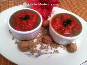 Cocottine di lenticchie