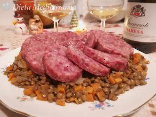 Cotechino e lenticchie by Dieta Mediterranea