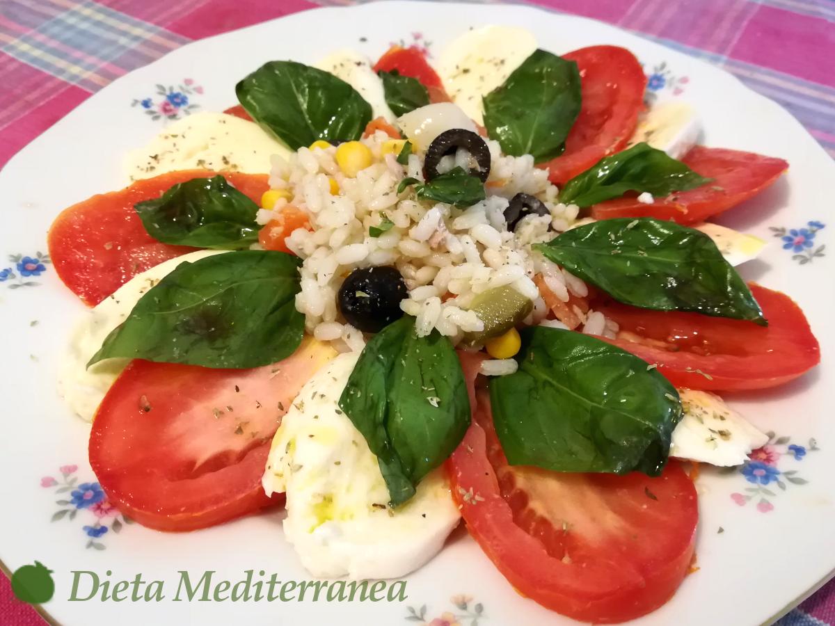 Insalata Caprese by Dieta Mediterranea
