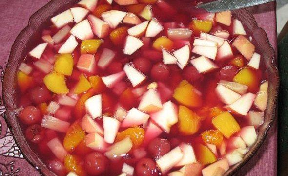 Macedonia di frutta al Maraschino