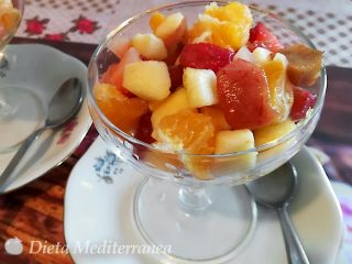 Macedonia di Frutta al Maraschino by Dieta Mediterranea