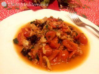 Merluzzo in guazzetto e pomodorini by Dieta Mediterranea