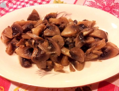 Funghi in agrodolce