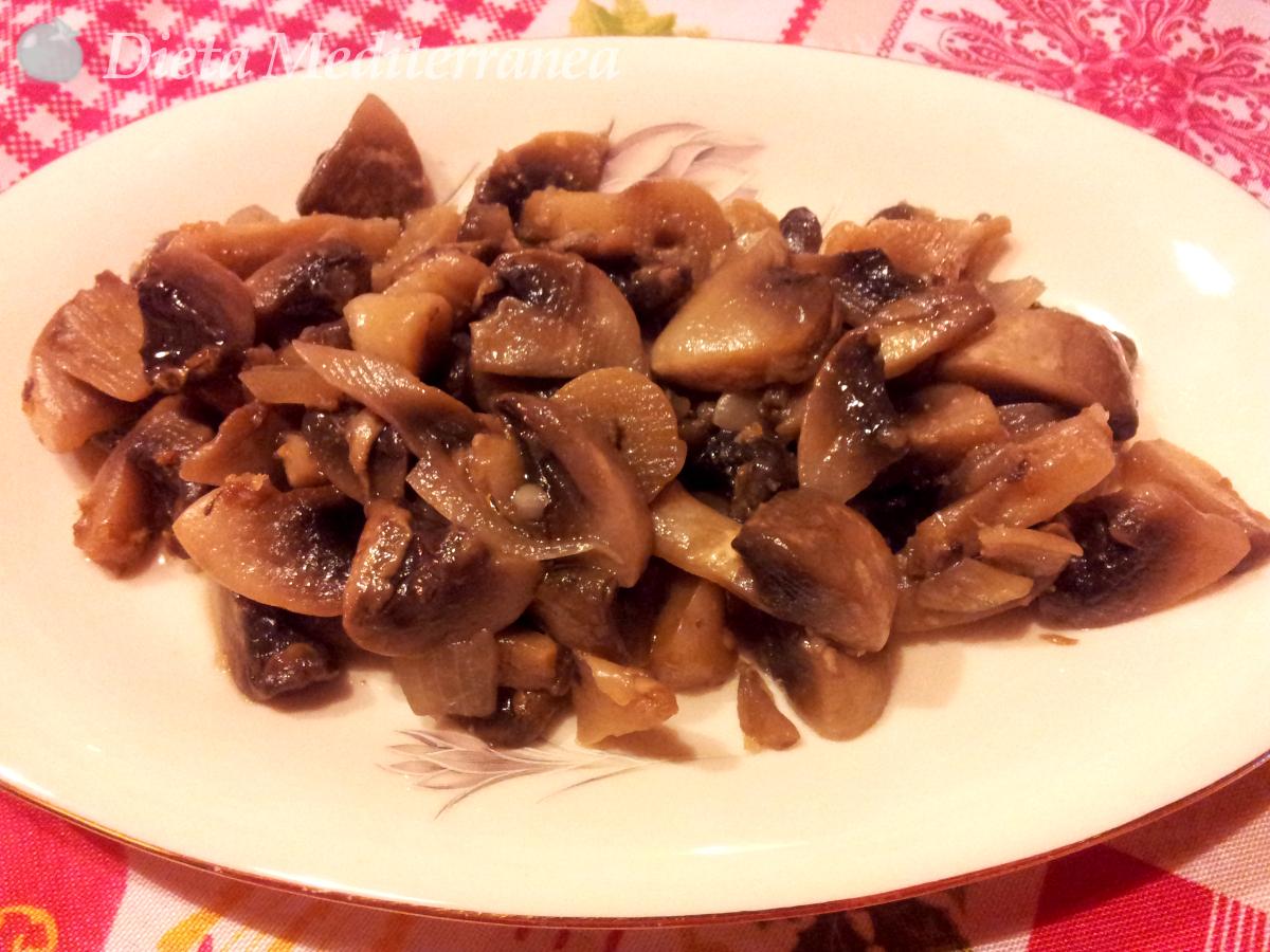 Funghi in agrodolce by Dieta Mediterranea