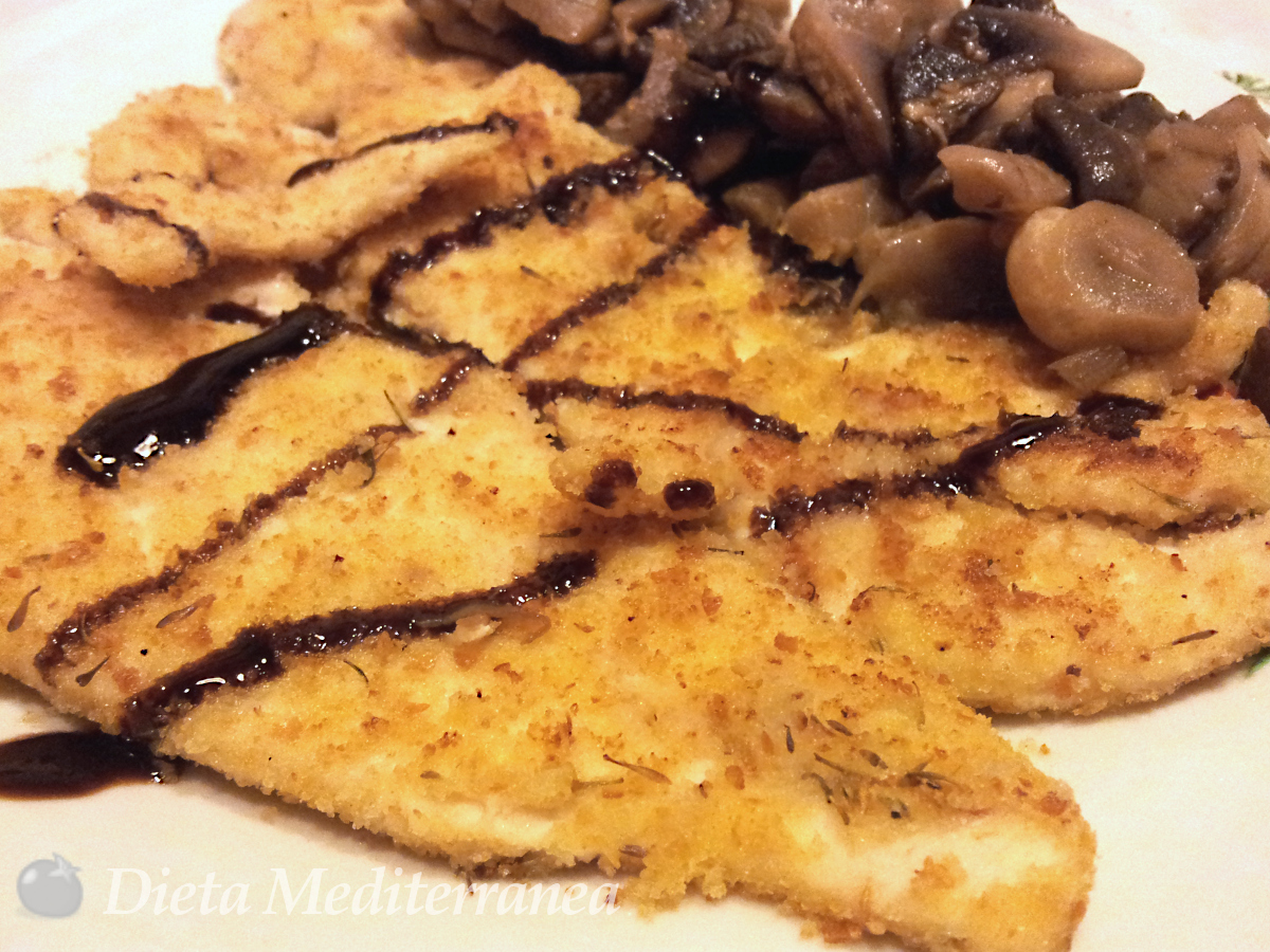Petto di pollo panato by Dieta Mediterranea