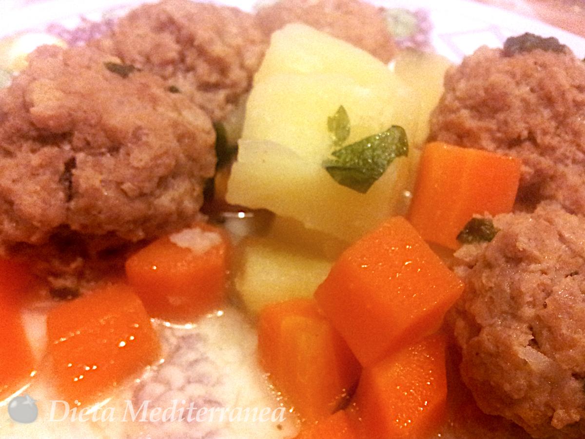 Polpette con patate e carote by Dieta Mediterranea