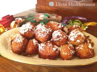 Ricetta Frittelle Veneziane by Dieta Mediterranea