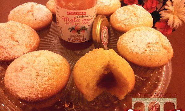 Muffin con Mela Rosa dei Monti Sibillini