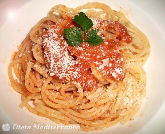 Spaghetti Alla Bolognese Dieta Mediterranea