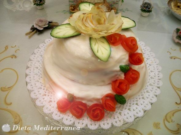 Torta Nuziale alle Patate  Dieta Mediterranea