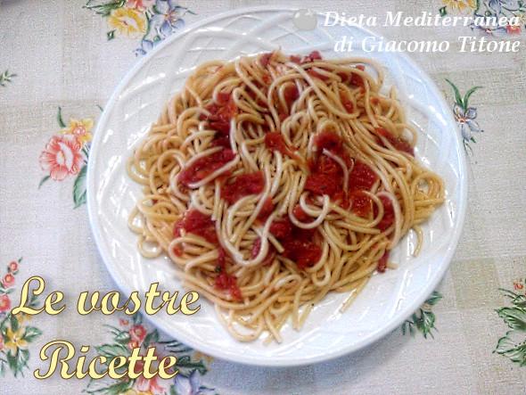 Pasta col Matarocco Trapanese - Foto Fan di Giacomo Titone by Dieta Mediterranea