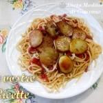 Pasta col Matarocco Trapanese e patate fritte - Foto Fan di Giacomo Titone by Dieta Mediterranea