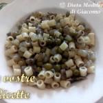 Pasta con piselli, carciofi e patate - Foto Fan di Giacomo Titone by Dieta Mediterranea