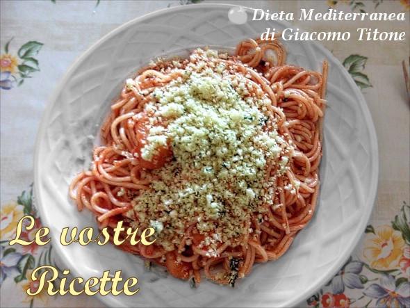 pasta con sugo e patate aglio e pangrattato foto fan di giacomo titone by