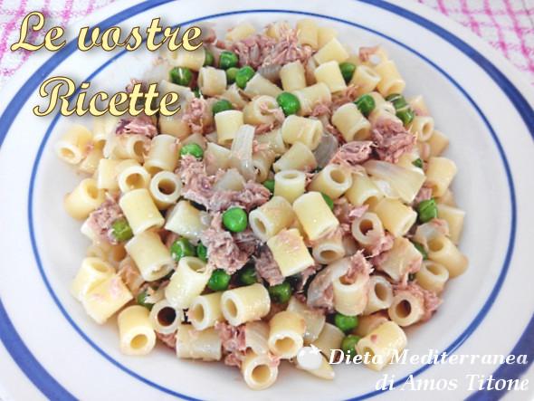 Pasta tonno e piselli - Foto Fan di Amos Titone by Dieta Mediterranea