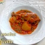 Pollo con patate, carote, sugo e piselli - Foto Fan di Giacomo Titone by Dieta Mediterranea