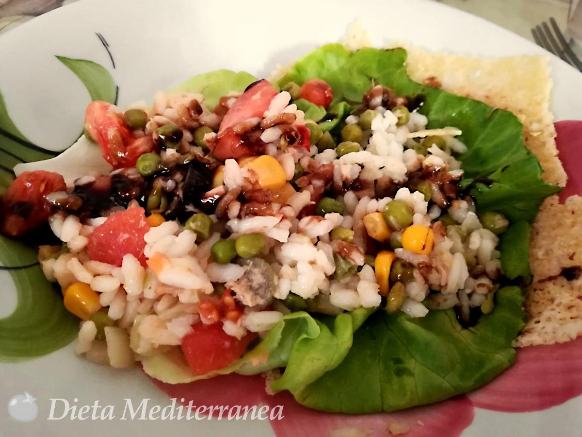 Insalata di Riso con lattuga by Dieta Mediterranea