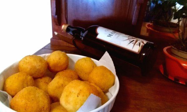 Arancine (o arancini di riso) tipiche di Santa Lucia