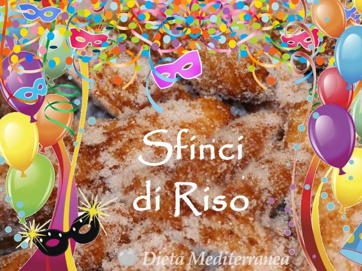 Sfinci di Riso messinesi by Dieta Mediterranea