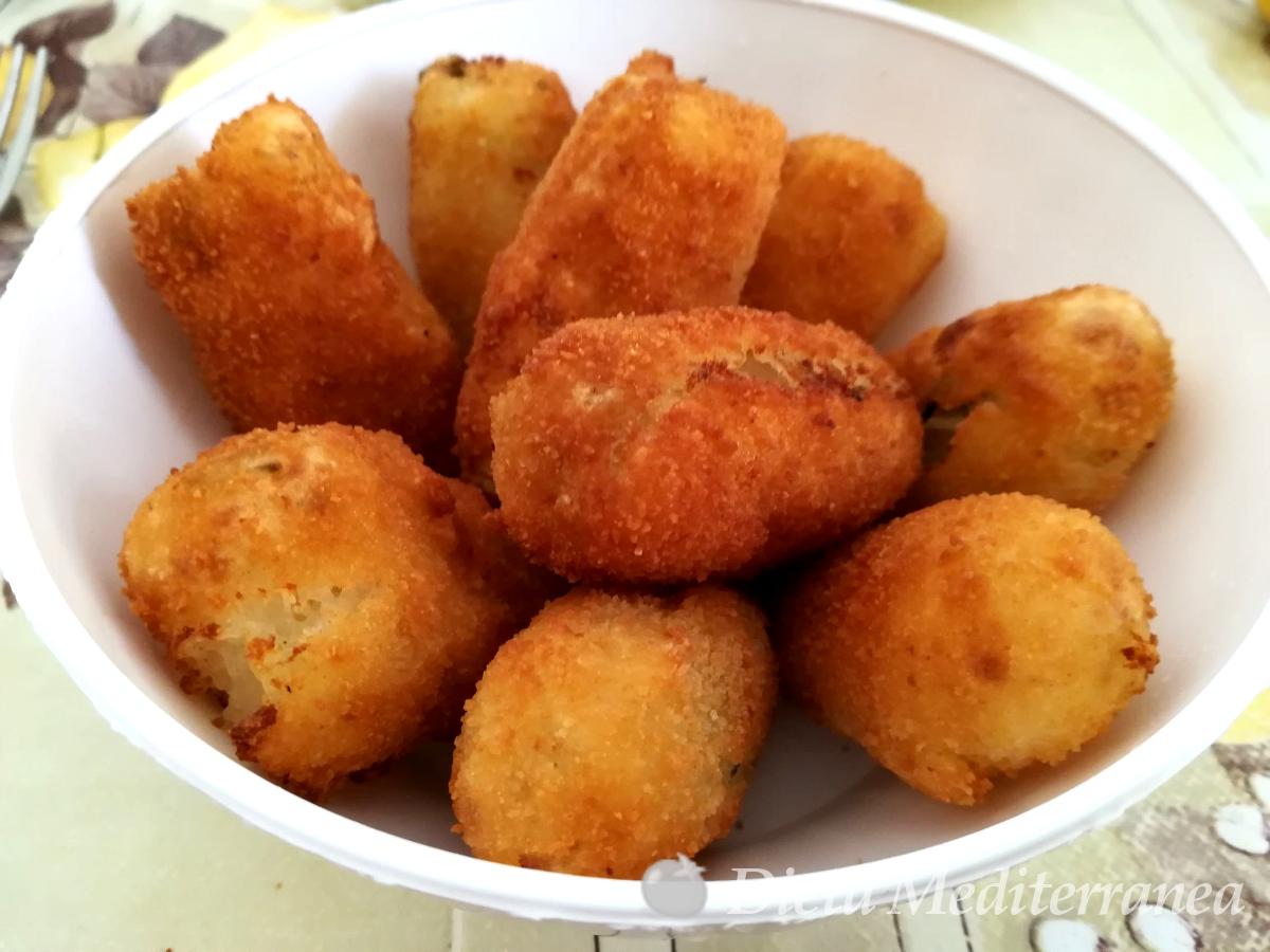 Crocchette di patate by Dieta Mediterranea