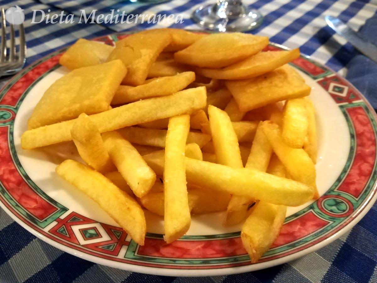 Panelle e patatine by Dieta Mediterranea